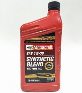 Масло моторное Motorcraft SAE 5W30 Syntetic Blend (0.946L) XO 5W30 QSP